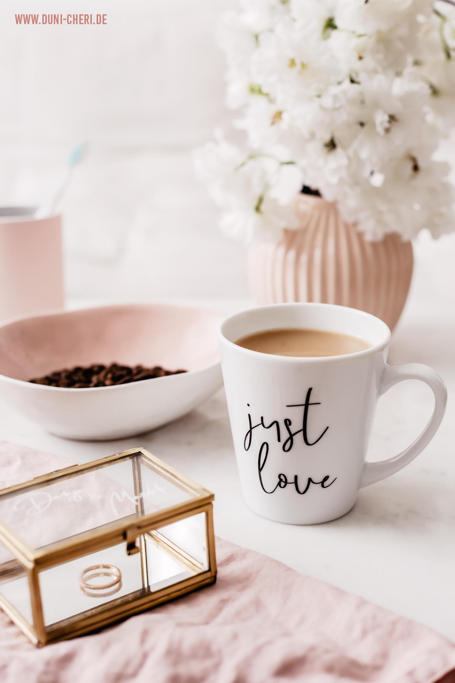 kaffee tasse just love jo & judy