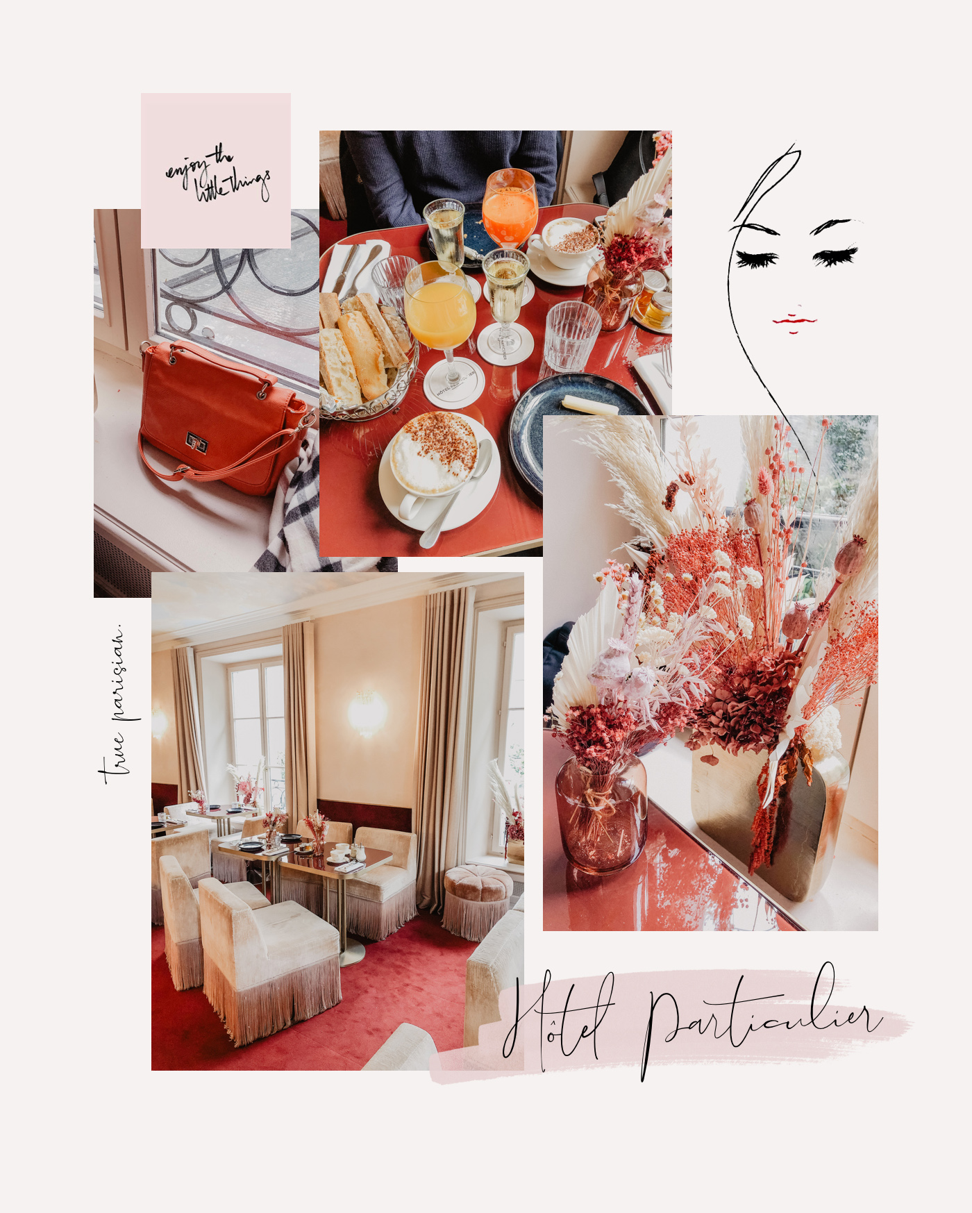 brunch hotel particulier paris cafe vintage