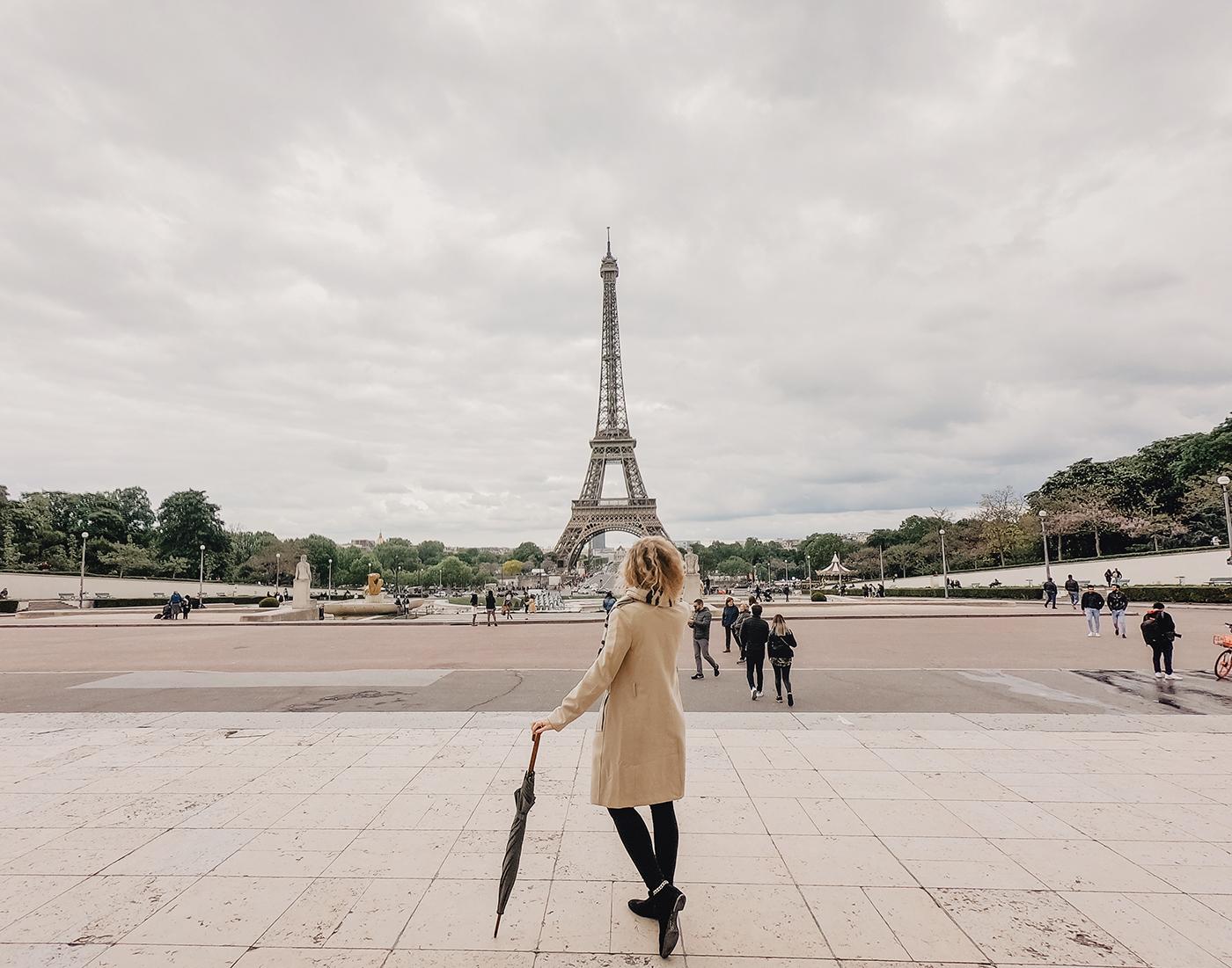 Paris Eiffelturm Platz Fotos