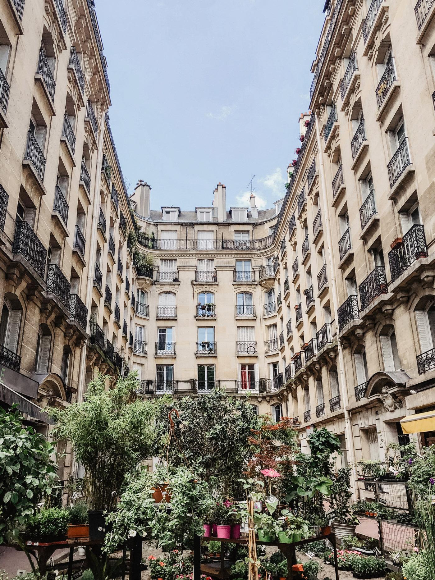 Paris Häuser
