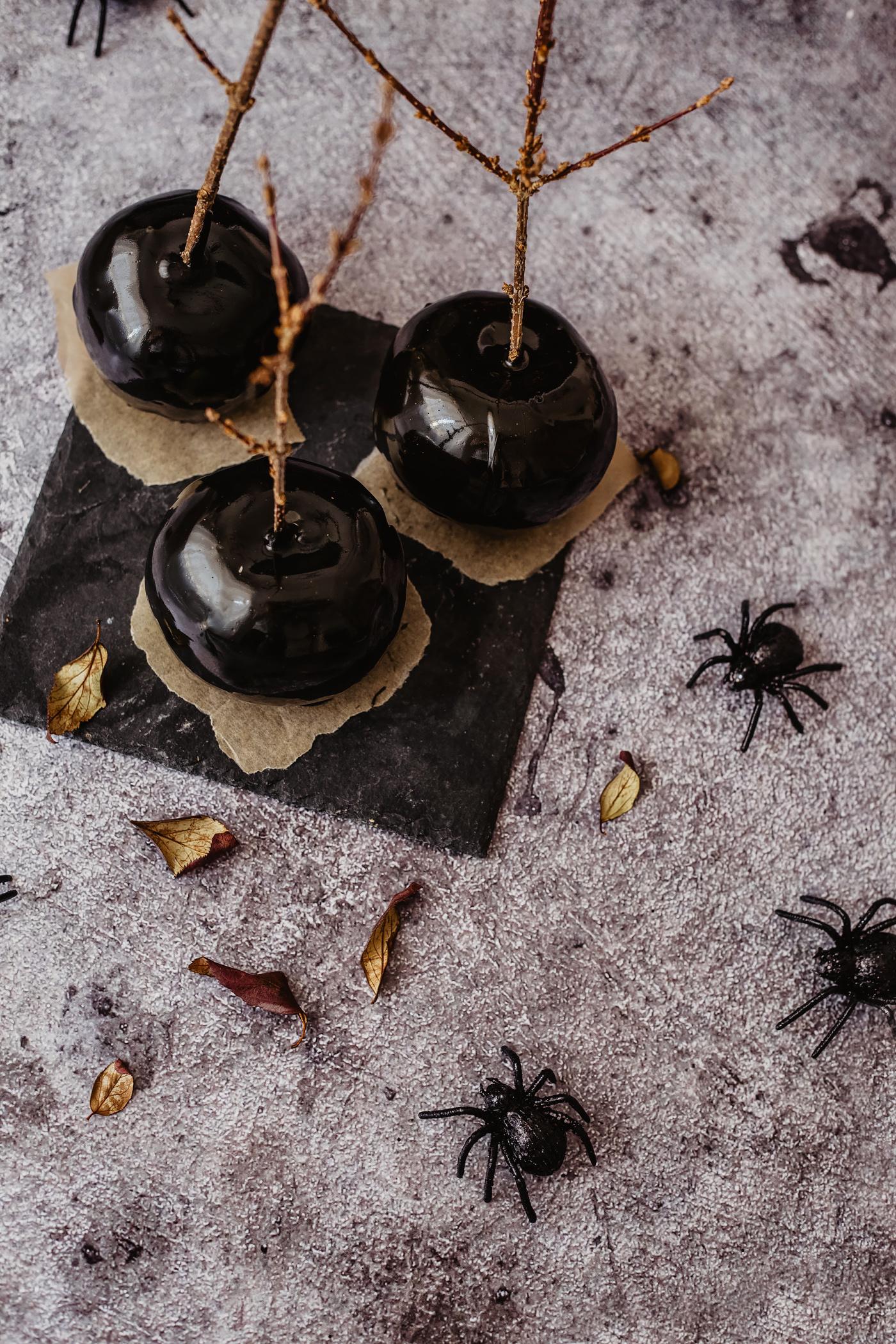 schwarze schneewittchen äpfel