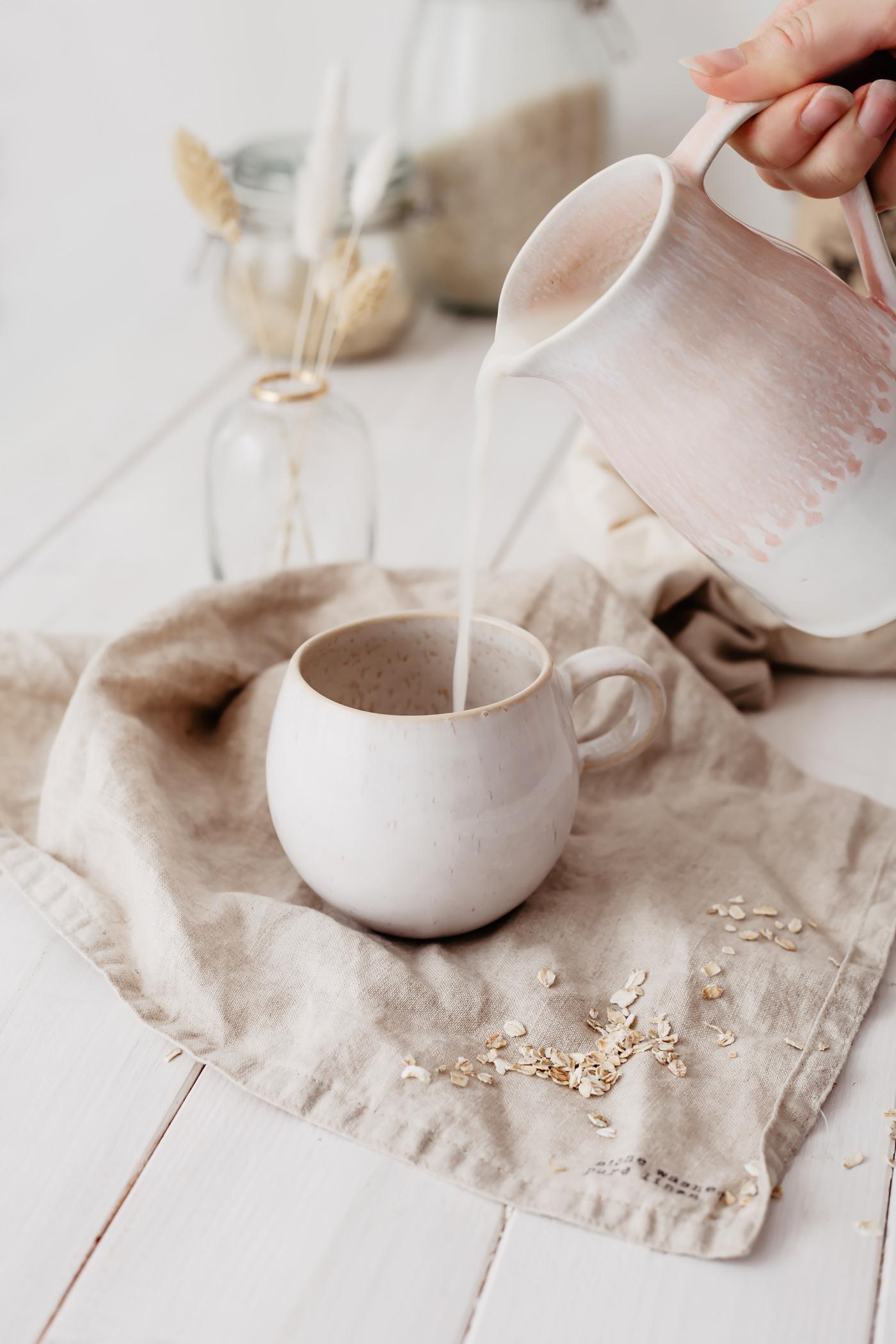 hafermilch selber herstellen rezept