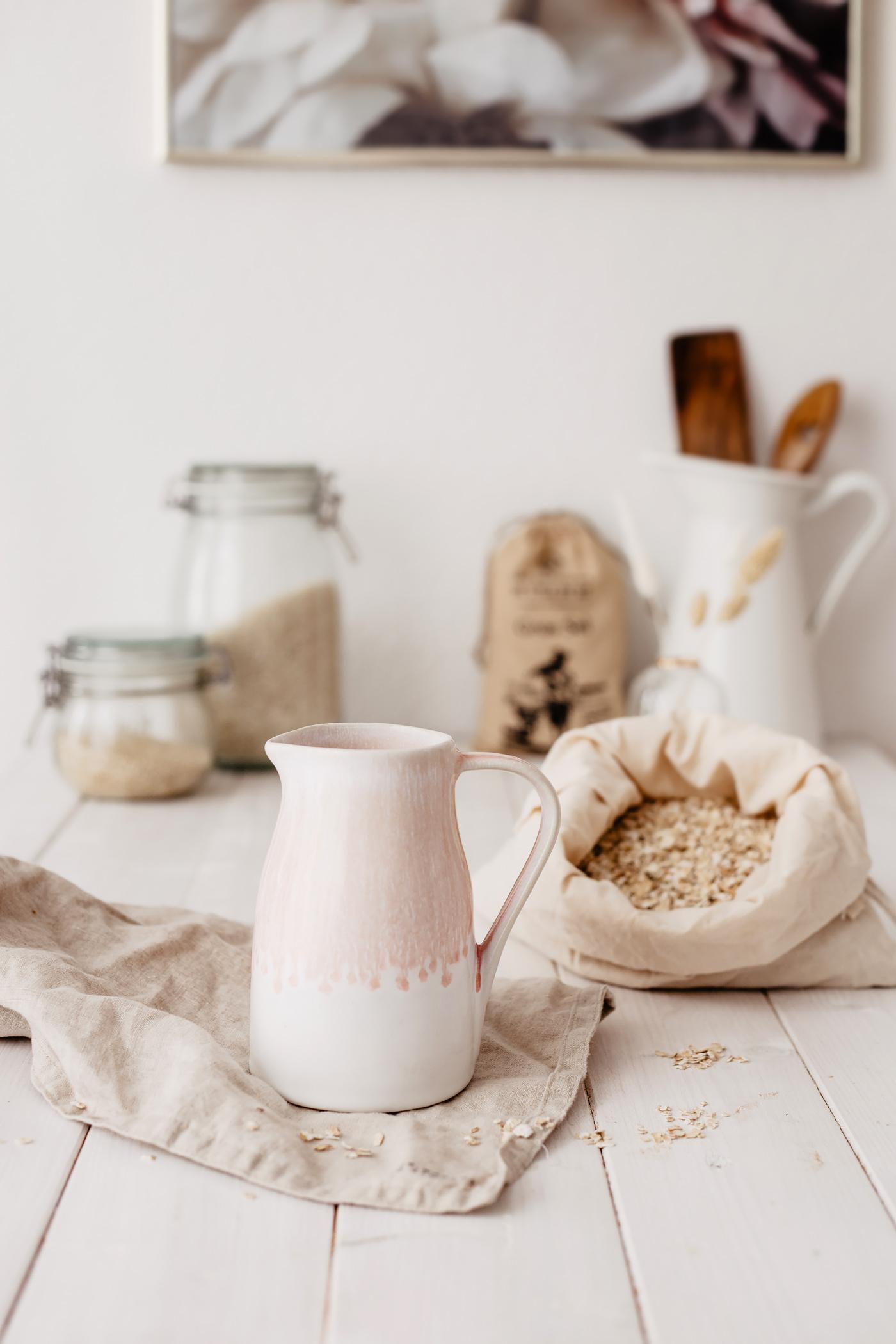 handgemacht keramik krug motel a miio rosa