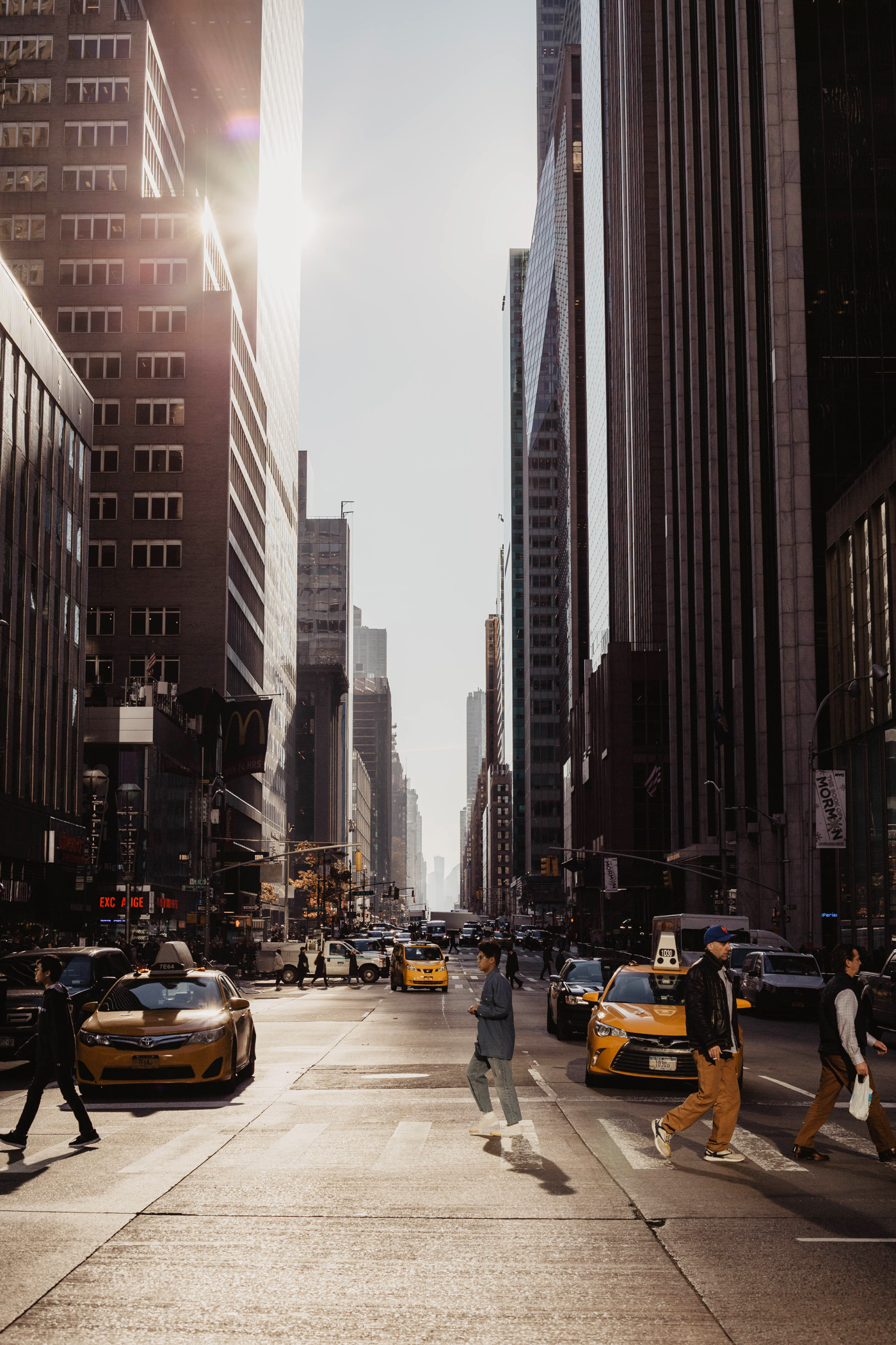 new york manhattan poster street upper east side