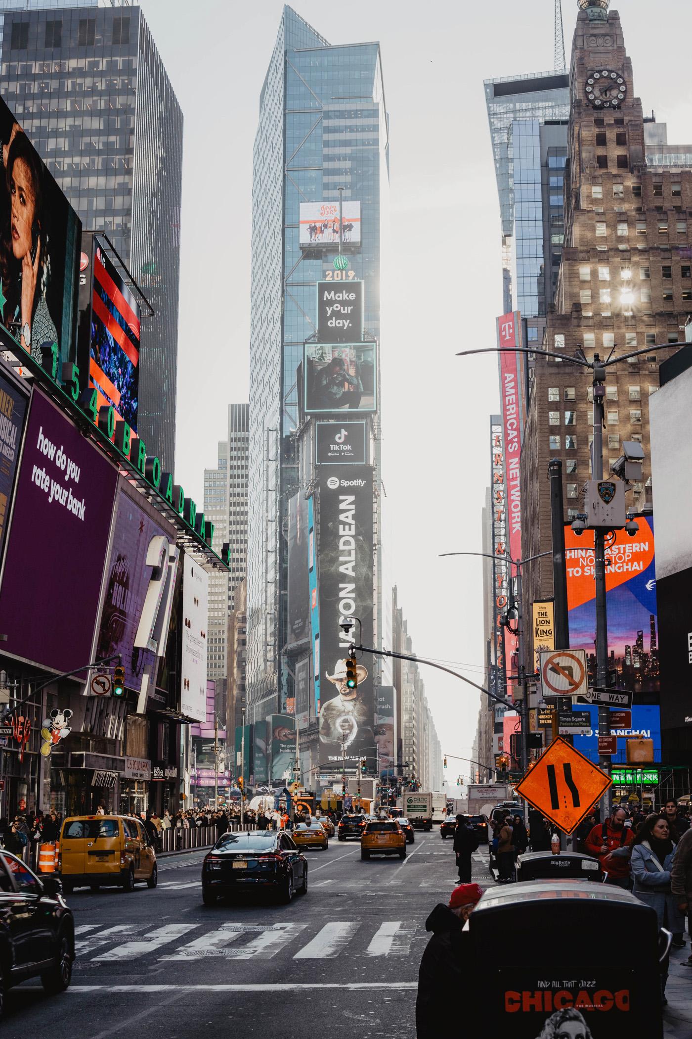 times square new york manhattan