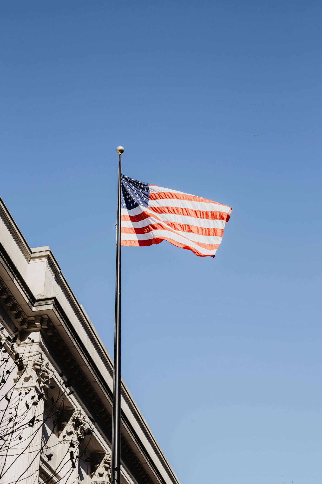 usa flagge new york upper east side