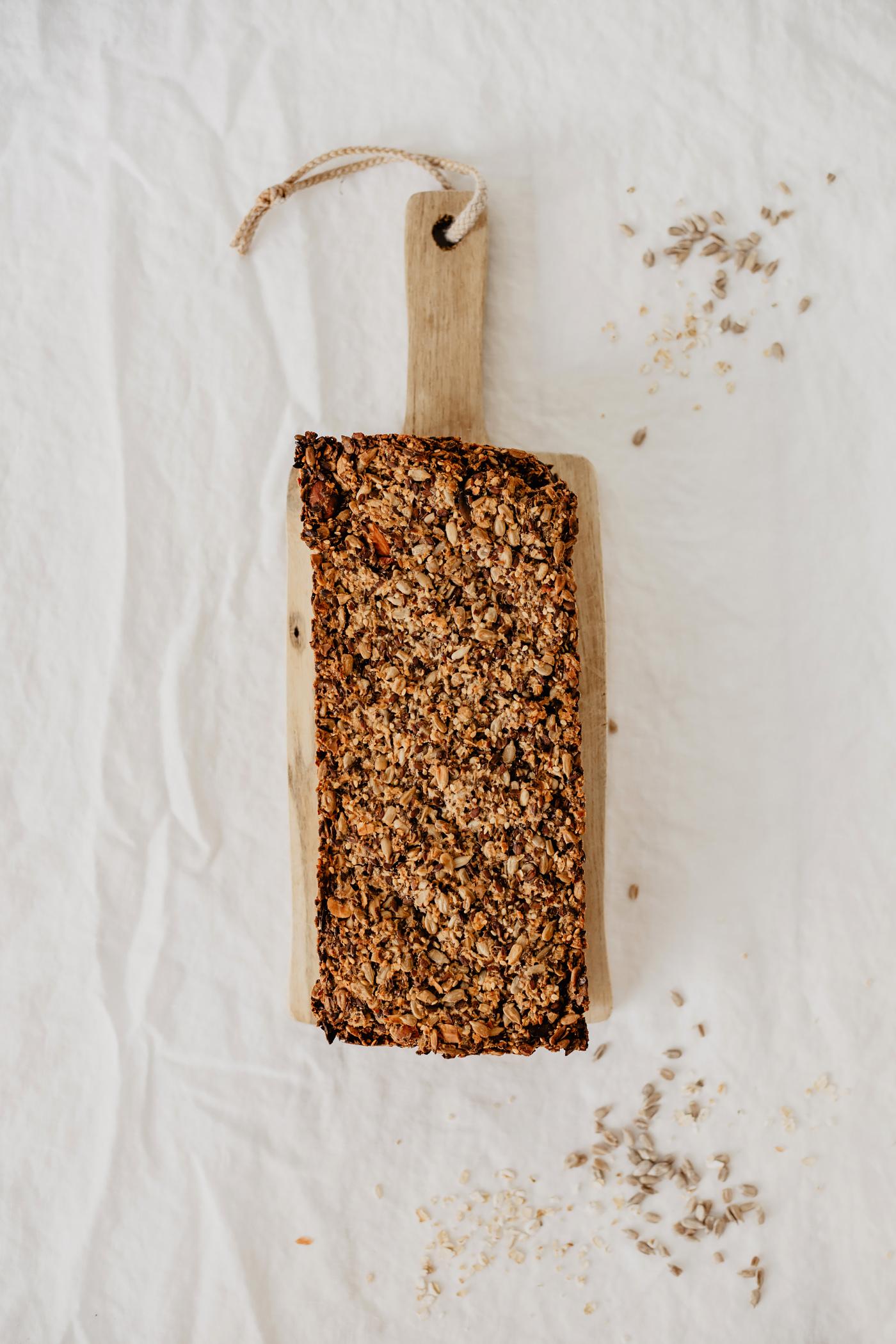 glutenfrei vegan brot körnerbrot selber machen gesund rezept
