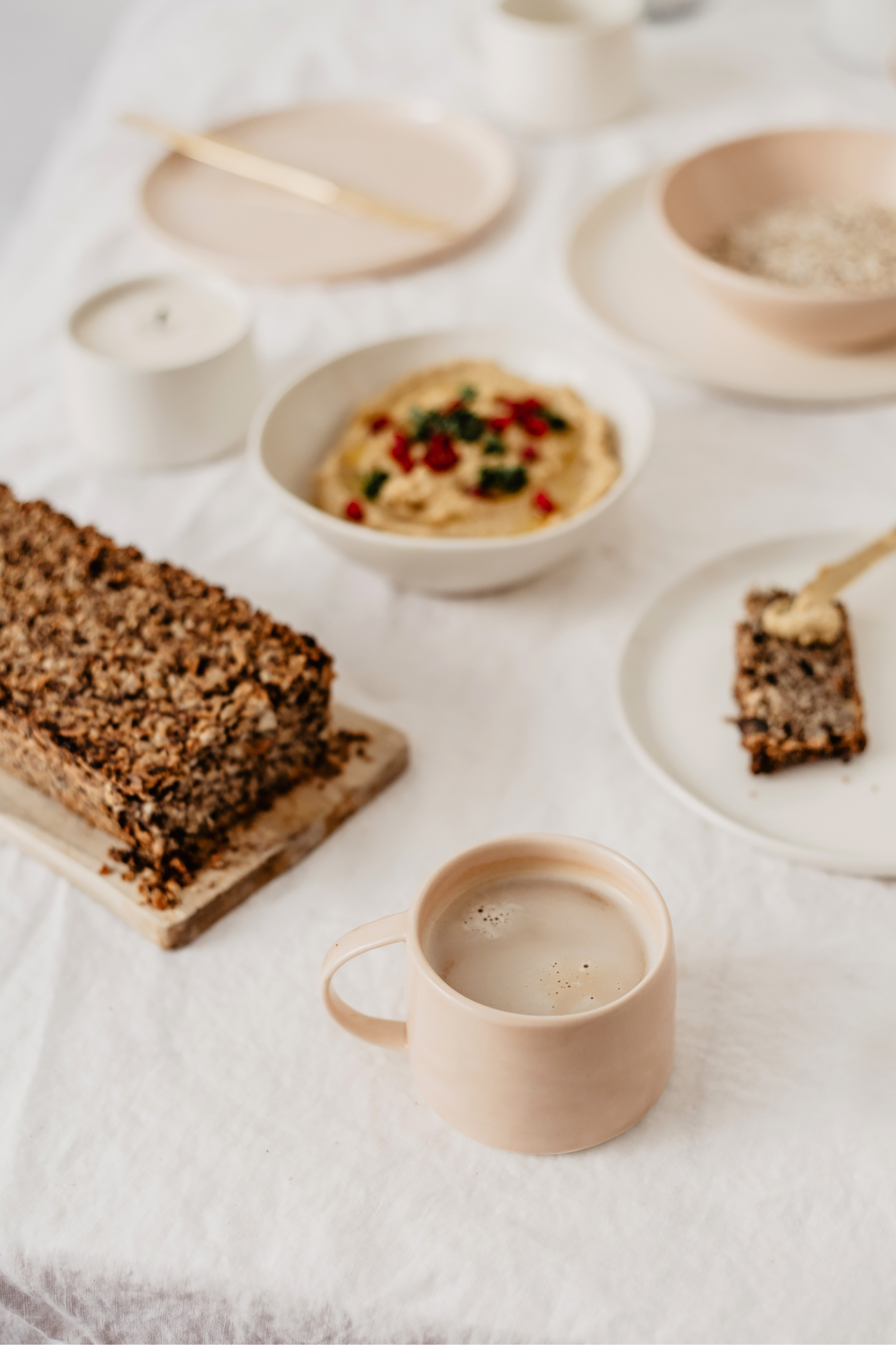 vegan frühstück ideen körnerbrot rezepte
