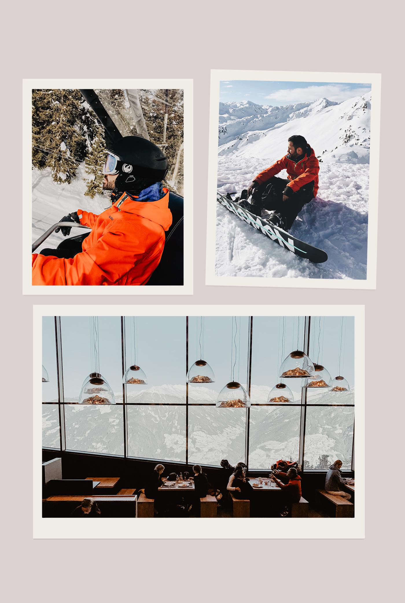 zillertal österreich skigebiet piste schnee