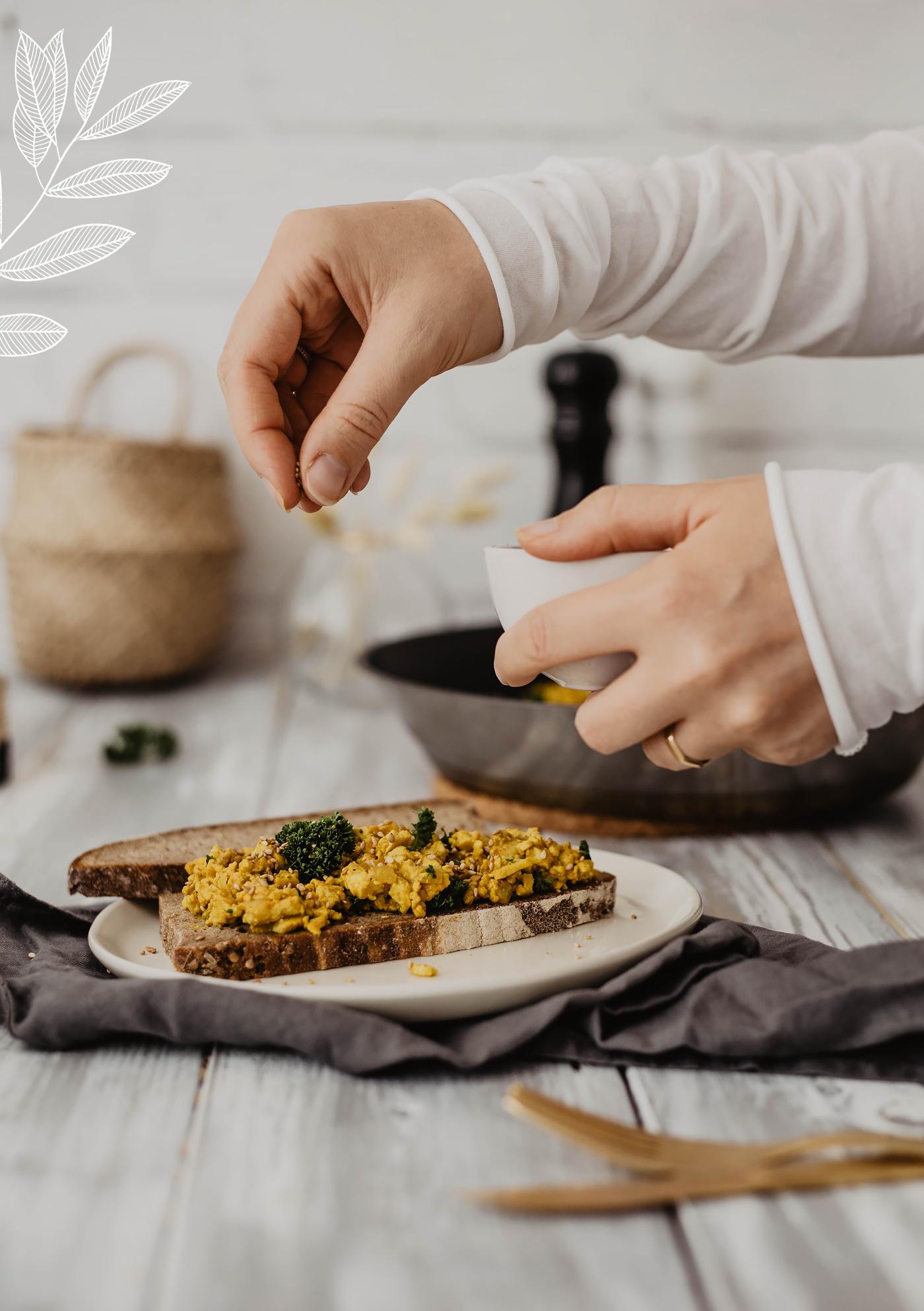 vegan frühstück brotzeit