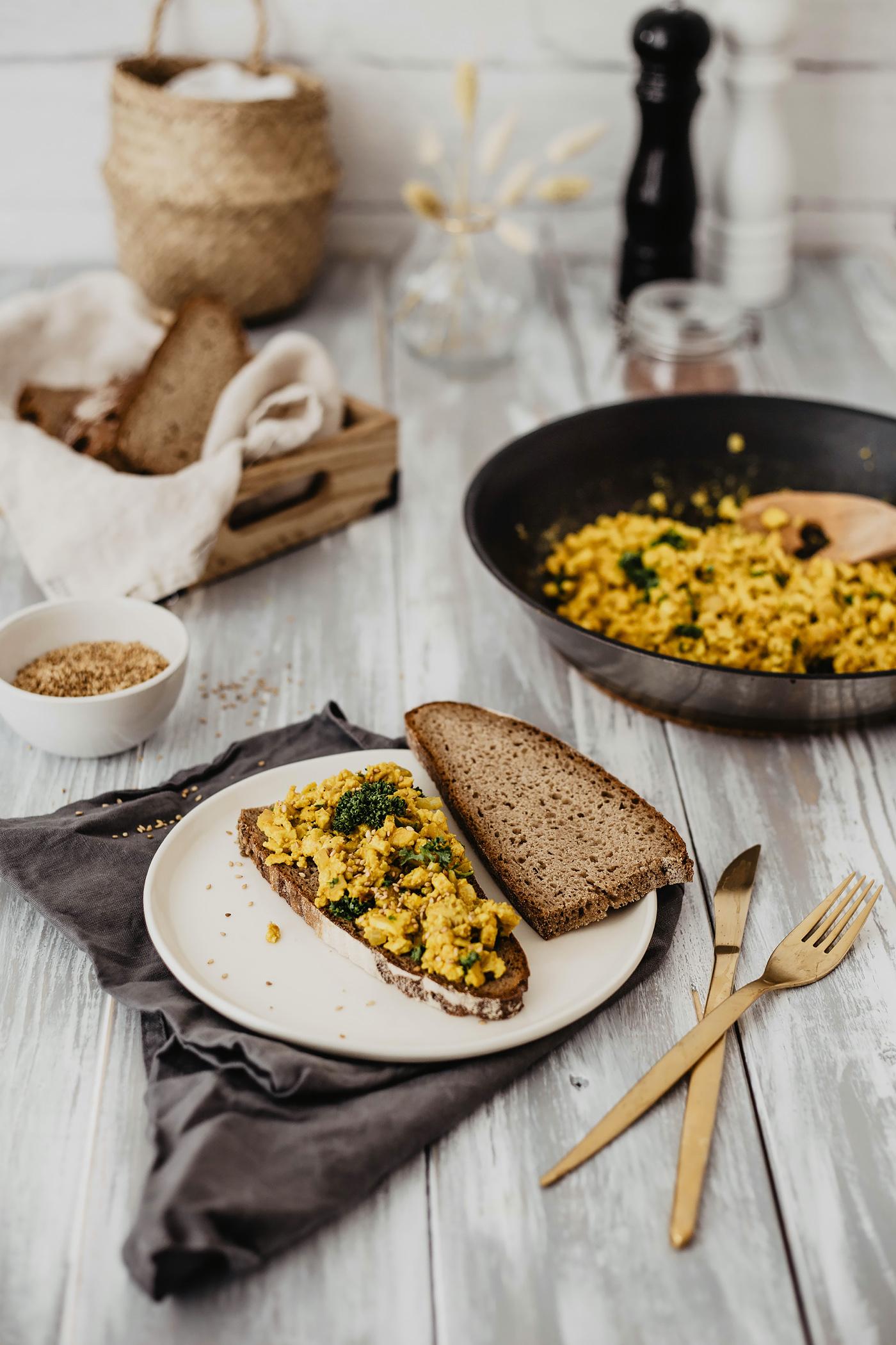 vegan frühstück ideen rezept