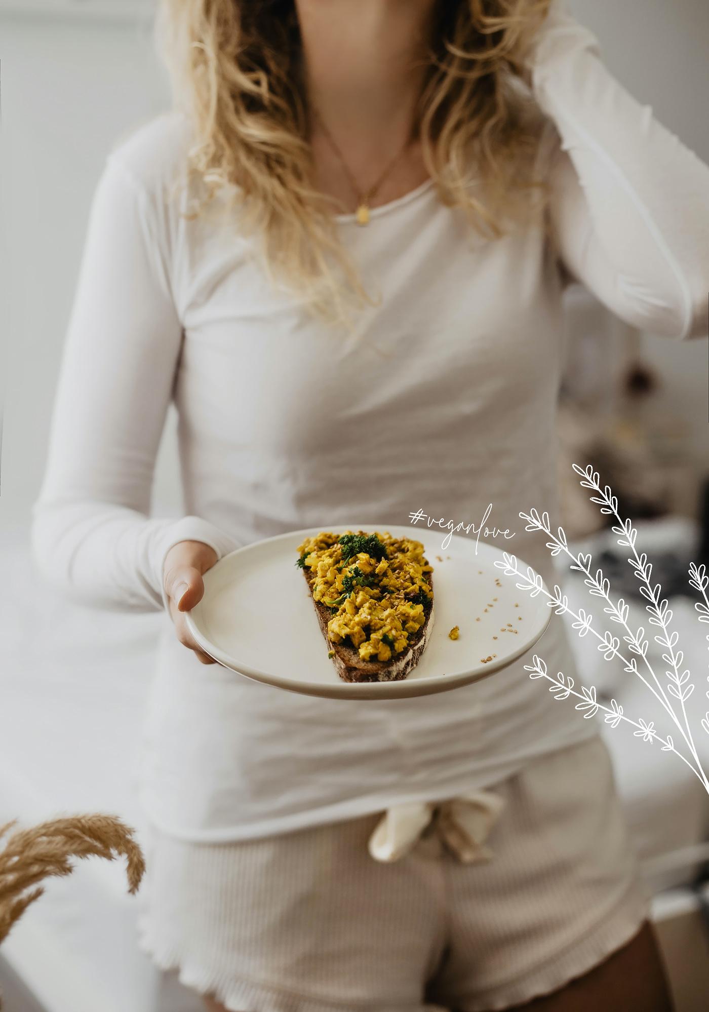 veganes frühstück rezept