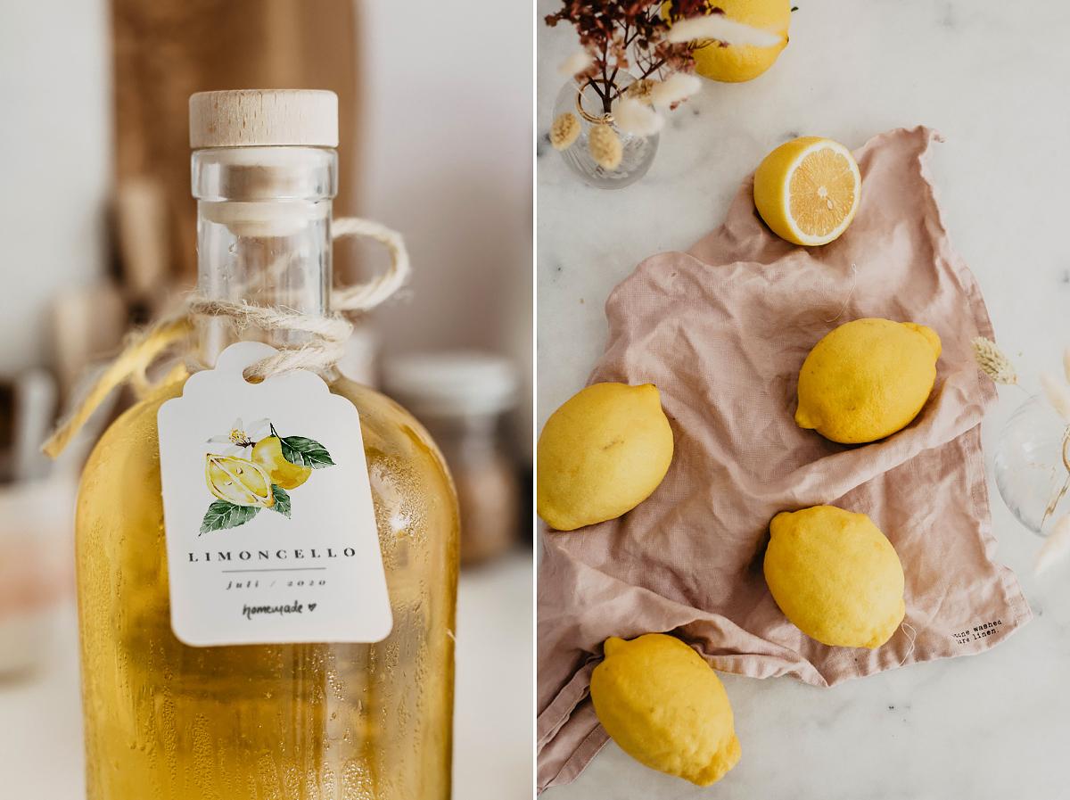 limoncello selber herstellen rezept