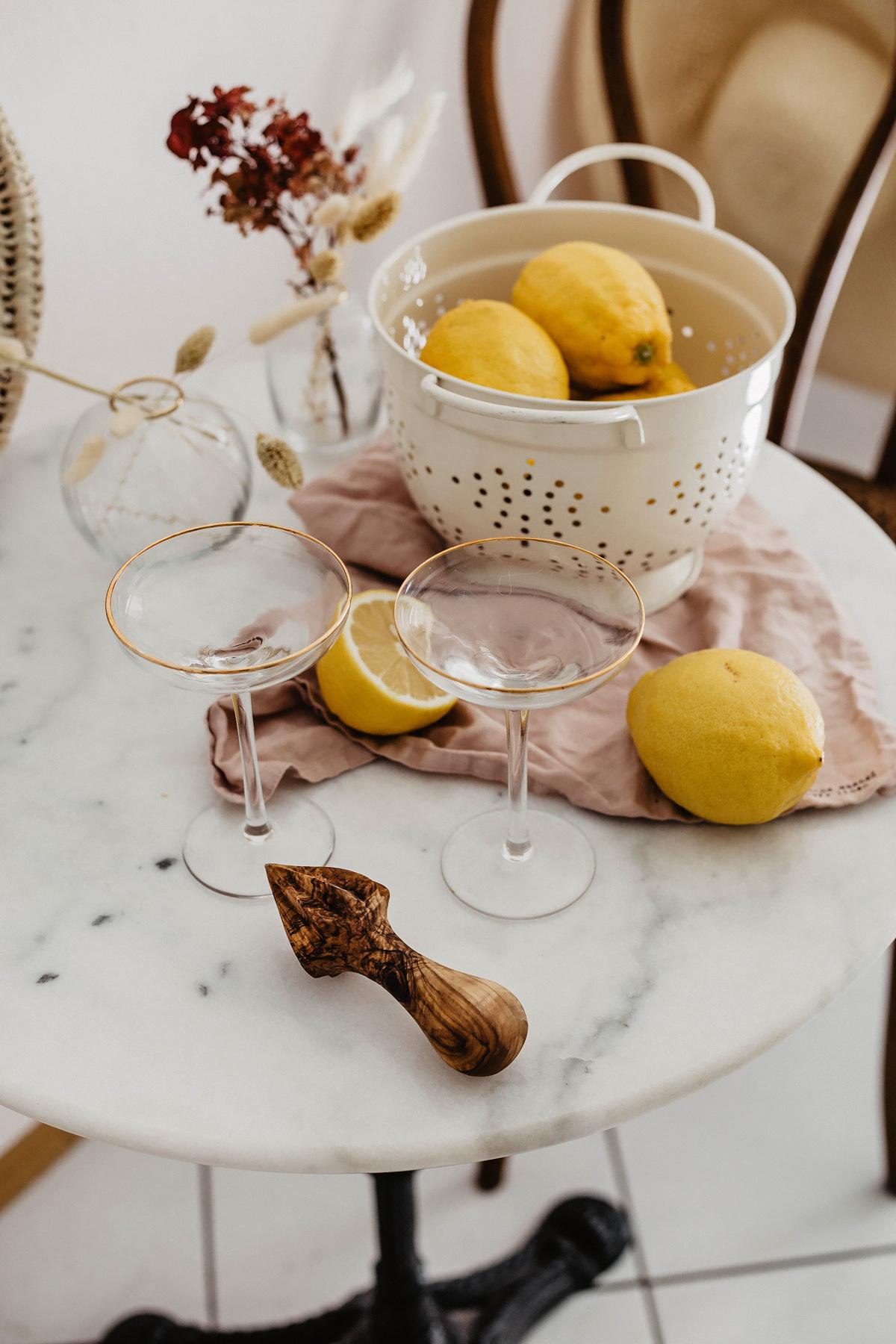 zitronen drink sommer limoncello spritz